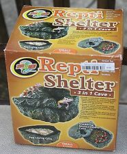 Zoo Med Repti Shelter 3 in 1 cave reptile small new in box