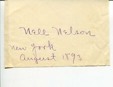 Nell Nelson Helen Cusack-Carvalho City Slave Girls Writer Signed Autograph
