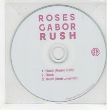 (GD964) Roses Gabor, Rush - DJ CD