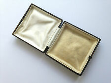 Antique Square Jewellery Box Mock Tortoiseshell & Gilt Ideal for Display Unnamed