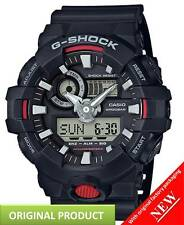 GA700-1A Casio G-SHOCK  Super Illuminator 3D Ana-Digital Men's Watch | BLACK RED
