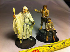 Gandalf Pippin Merry Lord of the Rings LOTR Metal Figures Collectable Bundle