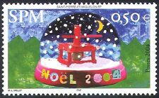 St Pierre & Miquelon 2004 Christmas/Greetings/Snow Globe/Animation 1v (n41202)