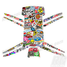Protective Vinyl Skin Decal for Parrot Bebop Quadcopter Drone wrap Sticker Bomb