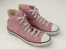 Converse all stars femme toile baskets uk 6 eur 39 cm 24.5 rose froisse vgc
