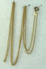 VINTAGE OLDER ITALY ITALIAN 18K GOLD 26 INCH CHAIN NECKLACE