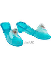 Frozen Elsa Princess Queen Fancy Dress Up Cosplay Jelly Shoes Kids Girls