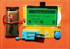 12864 LCD graphical ESR Meter Transistor tester capacitor + inductance +Resistor