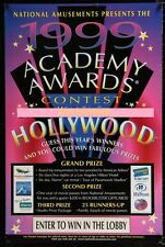 Original 1999 MOVIE THEATRE ACADEMY AWARDS CONTEST D/S Great For Home Theatre