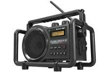 Outdoorradio Baustellenradio PerfectPro Bluetooth Radio DAB + BOX 2 + Batterien