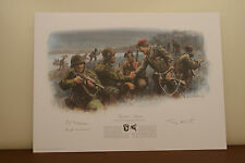 WW2 Veteran Signed Operation Market Garden 70th Commemorative Print