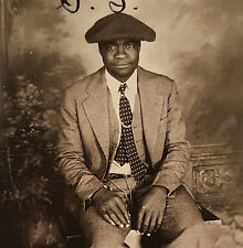 VINTAGE ANONYME ARTISTIQUE PHOTO SNAPSHOT AFRO-AMÉRICAIN HOMME VERNACULAIRE