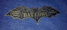 CUSTOM 1943 BATMAN SERIAL BAT COWL DISPLAY NAME PLATE PROP COLUMBIA PICTURES