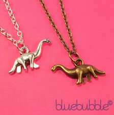 FUNKY BRONTOSAURUS DINOSAUR NECKLACE KITSCH DINO MONSTER CUTE FUN COOL ANIMAL UK
