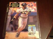 Beckett Baseball Magazine Nov 1990 Issue #68 Barry Bonds On Cover