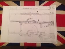 Bren Machine Gun 303 Armourer Drawings Schematics