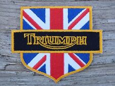 ECUSSON PATCH THERMOCOLLANT aufnaher toppa TRIUMPH automobile voiture moto biker