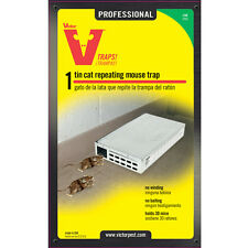 Victor M310 Tin Cat Repeating Live Mouse Trap