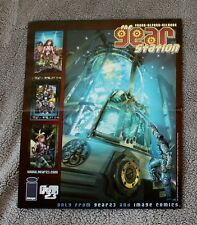 Gear Station Gear23 2000 Fraga Alford Gilmore Canada Image Comic PROMO Poster VF