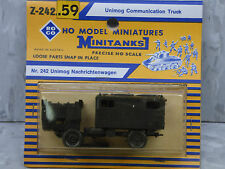 Roco Minitanks NEW 1/87 Scale West German Unimog Communication Truck Lot #98X