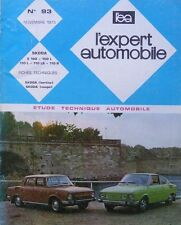 Revue technique SKODA S100 100L 110L 110LS 110R COUPE BERLINE RTA EXPERT 93 1973