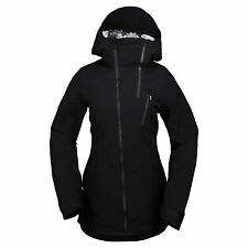 2017 NWT WOMENS VOLCOM V INSULATED GORE-TEX SNOWBOARD JACKET $390 S black