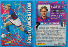 CARDS PANINI CALCIO 97 - N. 107 - KENNET ANDERSSON - BOLOGNA - 1 serie - new