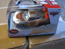 DISNEY PIXAR CARS SILVER LIGHTNING MCQUEEN CHASER DISNEY STORE EXCLUSIVE