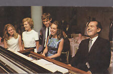 Richard M Nixon Playing The Piano Remember Vote  With Family   # C6