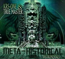 Meta-Historical Instrumentals by KRS-One/True Master (CD, Sep-2011, Fat Beats)