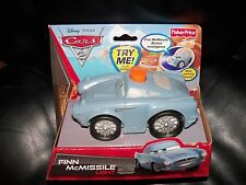 Disney Cars Finn McMissile Light Talking Flashlight Car NEW HTF