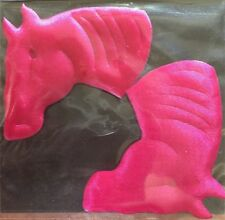 Hot Pink Horse colt bronco filly mustang pony stallion steed applique patch