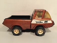 Vintage 1960's Metal Tonka Pick Up Truck VERY RARE ONE OF A KIND!