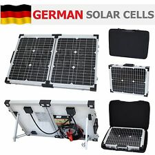 40W folding solar panel kit /12V battery charger motorhome,caravan,boat,camping
