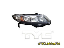 TYC NSF Right Side Halogen Headlight Lamp for Honda Civic Coupe 2010-2011