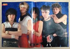 BRAVO POSTER Nena - Toni Schumacher - 80er Jahre !!!