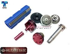 AIRSOFT M-4 13:1 Super High Speed Gear 15 Teeth Piston Tune-Up Set SHS