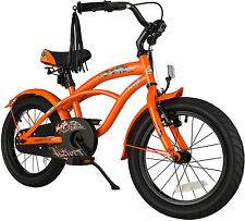 bike*star 40.6cm (16 Zoll) Kinder-Fahrrad Cruiser - Orange