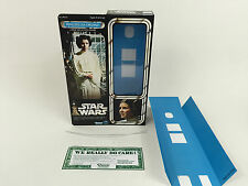"replacement Vintage Star wars 12""  princess leia  box + inserts"