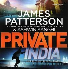Private India by James Patterson, Ashwin Sanghi (CD-Audio, 2014) NEW AND SEALED