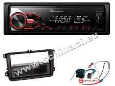 Autoradio Pioneer USB  + Kit montaggio per VW Golf / Polo / Passat