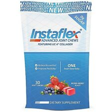Instaflex Advanced Joint Chews - Mixed Berry Blast 30 Soft Chews Exp 4/2017
