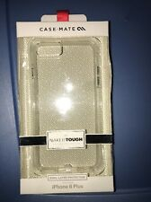 New in Box Case-Mate iPhone 6 Plus 6S Plus Naked Tough Clear Cover Case+ Bumper