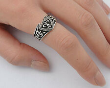 USA Seller Fleur De Lis Ring Sterling Silver 925 Unisex Best Deal Jewelry Size 7