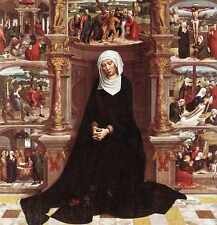 Isenbrant Adriaen Our Lady Of The Seven Sorrows A4 Print