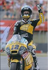 Thomas LUTHI SIGNED Moto2 INTERWETTEN Race Team Autograph 12x8 Photo AFTAL COA