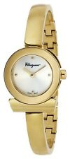 Ferragamo Womens FQ5040013 Gancino Bracelet Yellow Gold IP Stainless Steel Watch