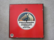 EMI Presents A Voice To Remember 75 Years EMI DOUBLE LP + BOOK BOX (Pink Floyd)