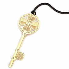 Key Shaped Gold Plated Metal Bookmarks Book Markers Gift For Readers