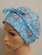Chemo head wear floral cotton chemo cap cancer head scarf bonnet hair loss caps